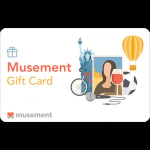 Gift Card Musement Carta Regalo